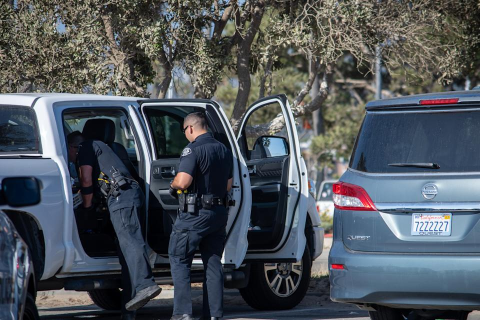 Officers from the city of Ventura Police Department