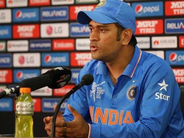 MS Dhoni has been a funny figure in press conferences