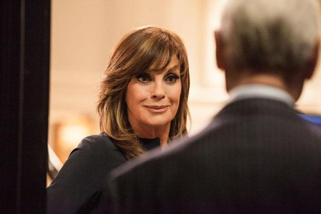 "Linda Gray in the ""Dallas"" Season 2 episode, ""Venomous Creatures."""