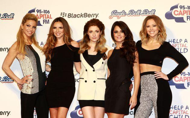 Girls Aloud pictured in 2012 (Photo: Fred Duval via Getty Images)