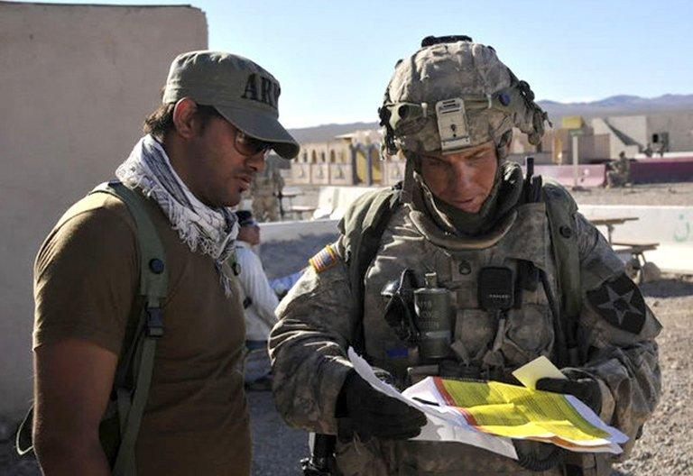 US military prosecutors will seek the death penalty for Staff Sgt. Robert Bales (R), pictured in August 23, 2011. Bales is accused of killing 16 villagers in southern Afghanistan in March