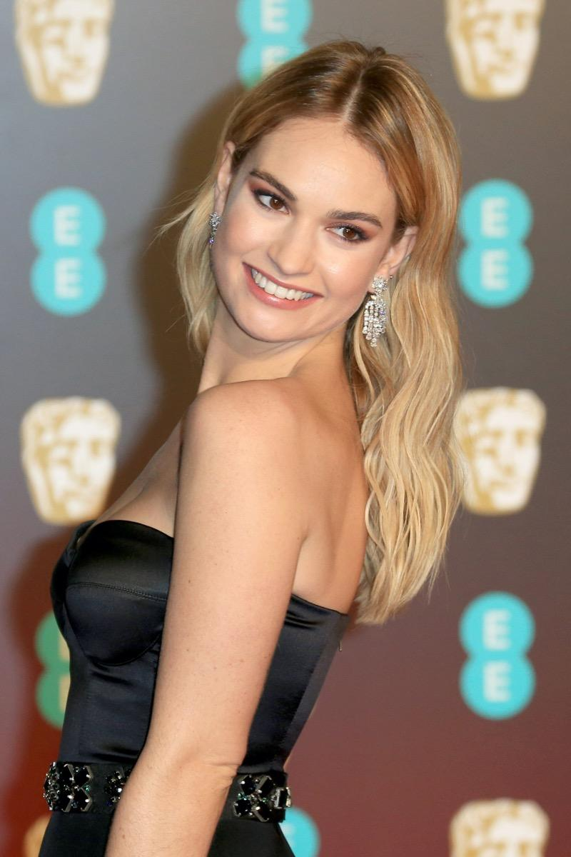 downton abbey star lily james