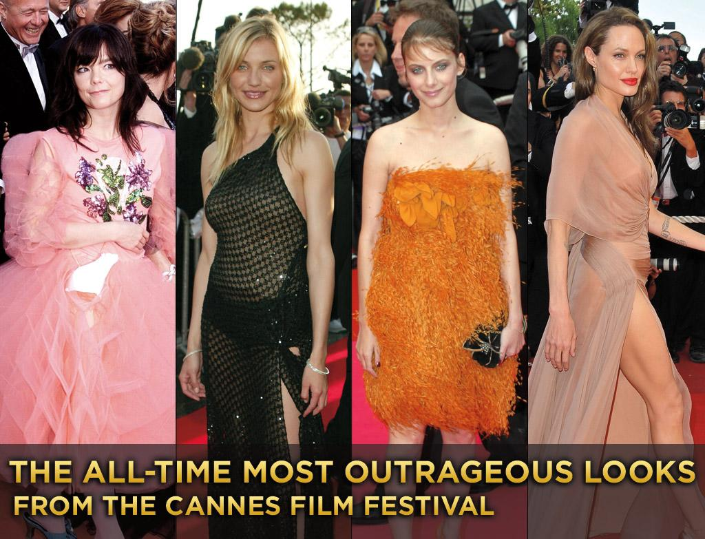 The always glamorous red carpet of the Cannes Film Festival brings out  the biggest names and some of the most outrageous fashions. Here is a  look back at some of the festival's most inspired looks: