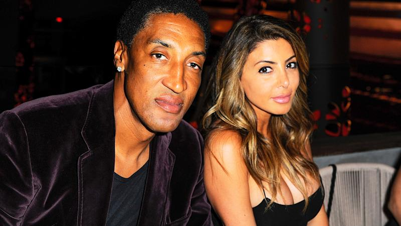 Scottie and Larsa Pippen, pictured here at an event in Miami in 2016.