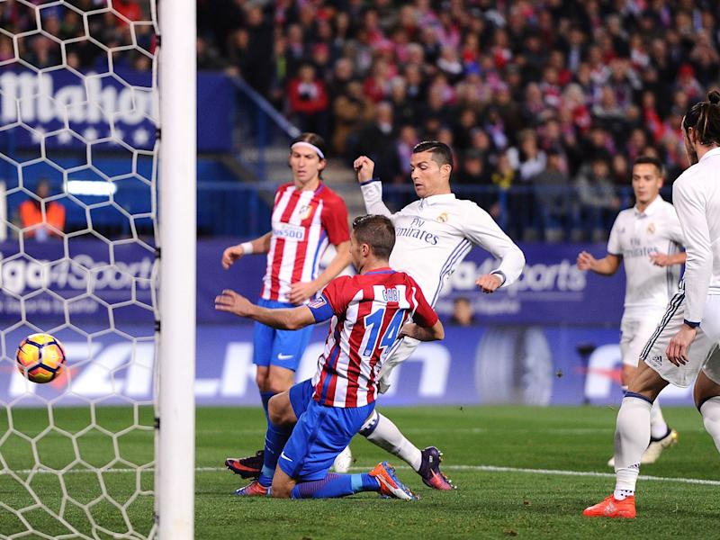 The last encounter between the sides ended in a 3-0 victory for Real: Getty