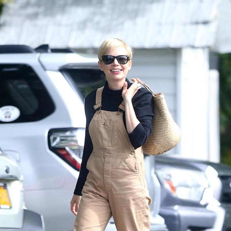 Michelle Williams Shows How To Wear Overalls As An Adult