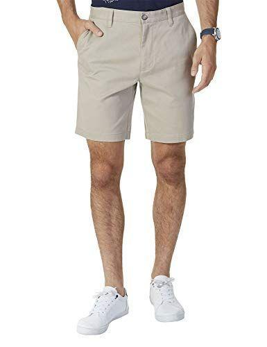 """<p><strong>Nautica</strong></p><p>amazon.com</p><p><a href=""""https://www.amazon.com/dp/B075NWFM1C?tag=syn-yahoo-20&ascsubtag=%5Bartid%7C2139.g.36477804%5Bsrc%7Cyahoo-us"""" rel=""""nofollow noopener"""" target=""""_blank"""" data-ylk=""""slk:BUY IT HERE"""" class=""""link rapid-noclick-resp"""">BUY IT HERE</a></p><p><del>$39.99</del><strong><br>$29.97</strong></p><p>Hitting right above the knee, these shorts with an 8.5"""" inseam are the perfect length for all summertime endeavors. Pair yours with a linen button-down or a favorite T-shirt. </p>"""
