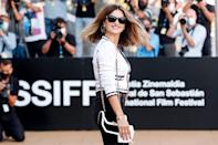 <p>Penélope Cruz is every bit the movie star on Sept. 17 while arriving at the 69th San Sebastian International Film Festival in Spain.</p>