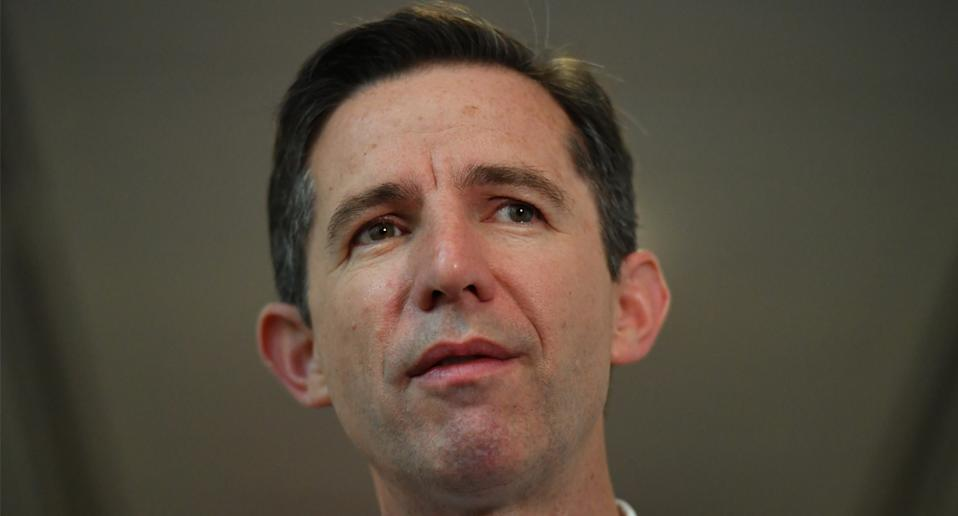 Simon Birmingham says China has become 'challenging'. Source: AAP