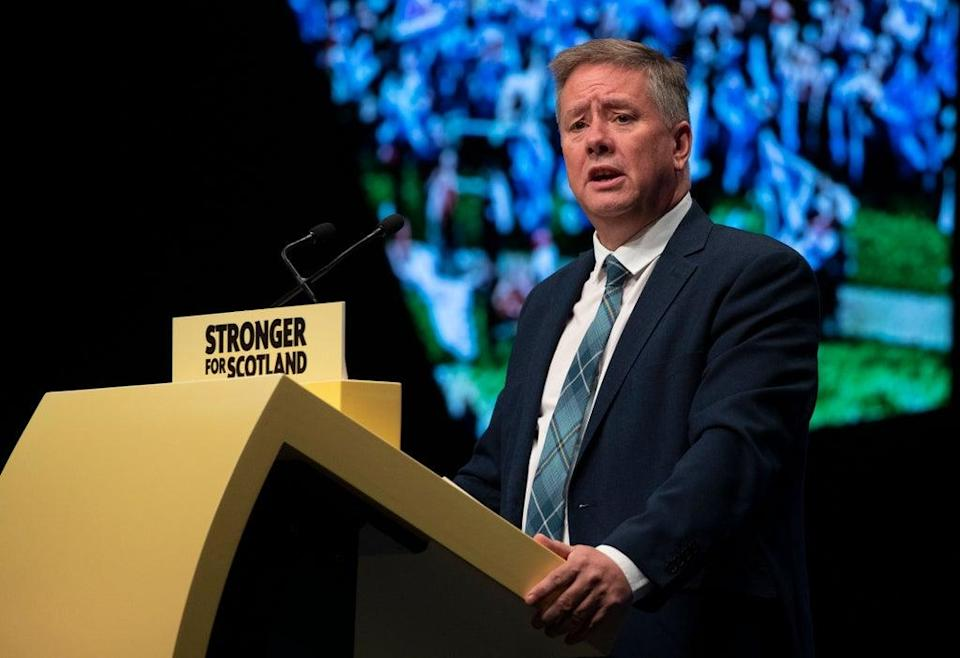 Depute leader Keith Brown will speak on the first day of the SNP conference (Jane Barlow/PA) (PA Archive)