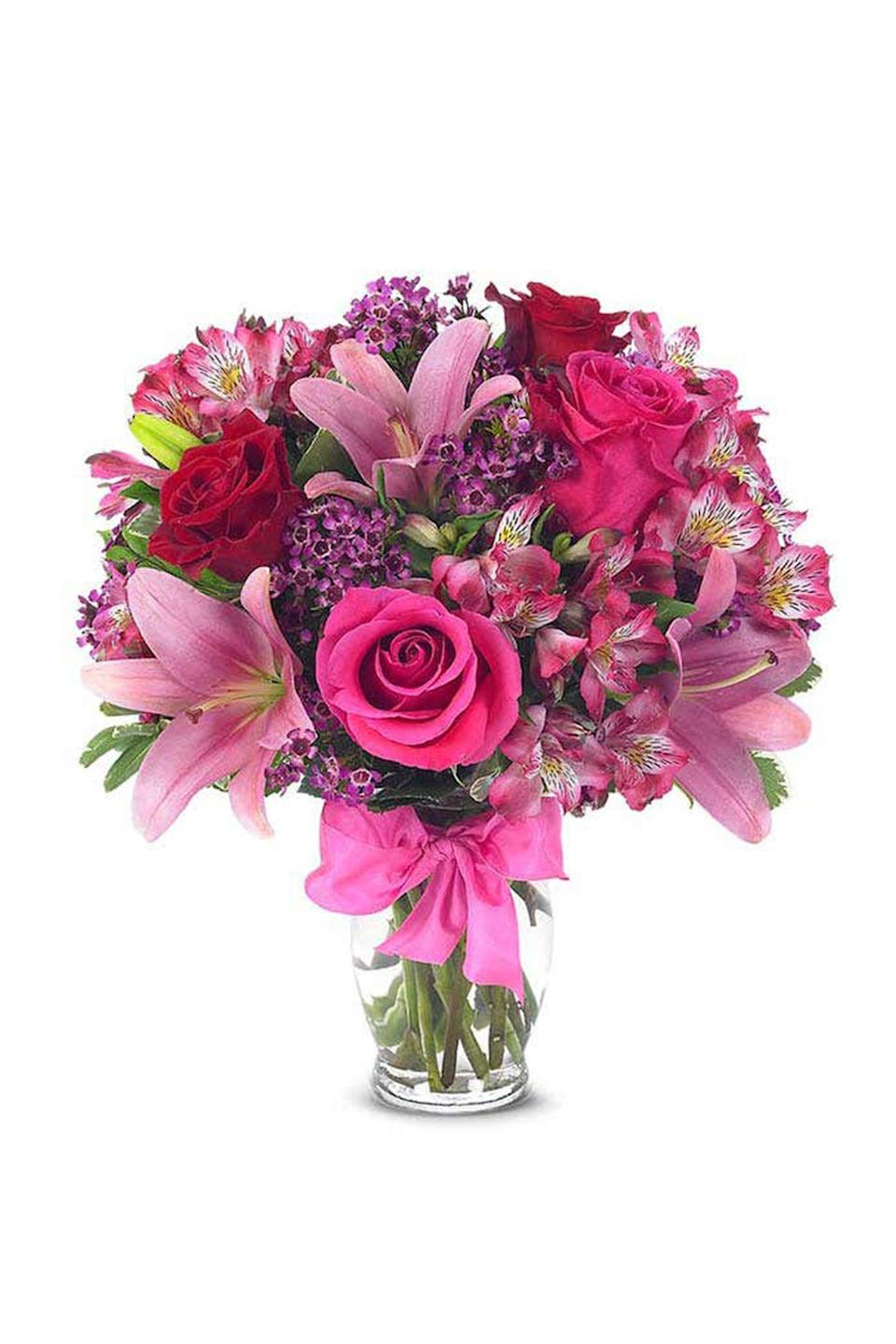 """<p><strong>FromYouFlowers.com</strong></p><p>fromyouflowers.com</p><p><strong>$38.24</strong></p><p><a href=""""https://go.redirectingat.com?id=74968X1596630&url=https%3A%2F%2Fwww.fromyouflowers.com%2Fproducts%2Feuropean_romance_bouquet.htm&sref=https%3A%2F%2Fwww.redbookmag.com%2Flife%2Fg35152525%2Fbest-flower-delivery-service%2F"""" rel=""""nofollow noopener"""" target=""""_blank"""" data-ylk=""""slk:Shop Now"""" class=""""link rapid-noclick-resp"""">Shop Now</a></p><p>In a pinch and need flowers delivered now? <a href=""""https://go.redirectingat.com?id=74968X1596630&url=https%3A%2F%2Fwww.fromyouflowers.com%2F&sref=https%3A%2F%2Fwww.redbookmag.com%2Flife%2Fg35152525%2Fbest-flower-delivery-service%2F"""" rel=""""nofollow noopener"""" target=""""_blank"""" data-ylk=""""slk:FromYouFlowers.com"""" class=""""link rapid-noclick-resp"""">FromYouFlowers.com</a> offers same day flower delivery nationwide. By utilizing local floral partners near you, they are able to a create a gift with fresh blooms, delivered with a free card personalized message.</p>"""
