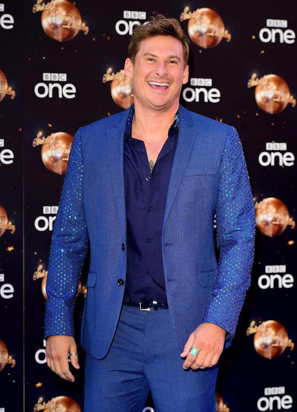 Lee Ryan at the launch of Strictly Come Dancing 2018 (Ian West/PA) (PA Archive)