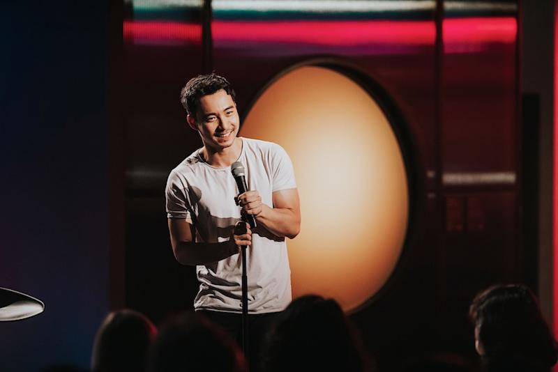London-based Nigel Ng has been dubbed 'Culture-clash comedian' by British daily newspaper The Times. — Picture Courtesy of Comedy Central Asia