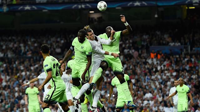 Gareth Bale Real Madrid Manchester City 04052016