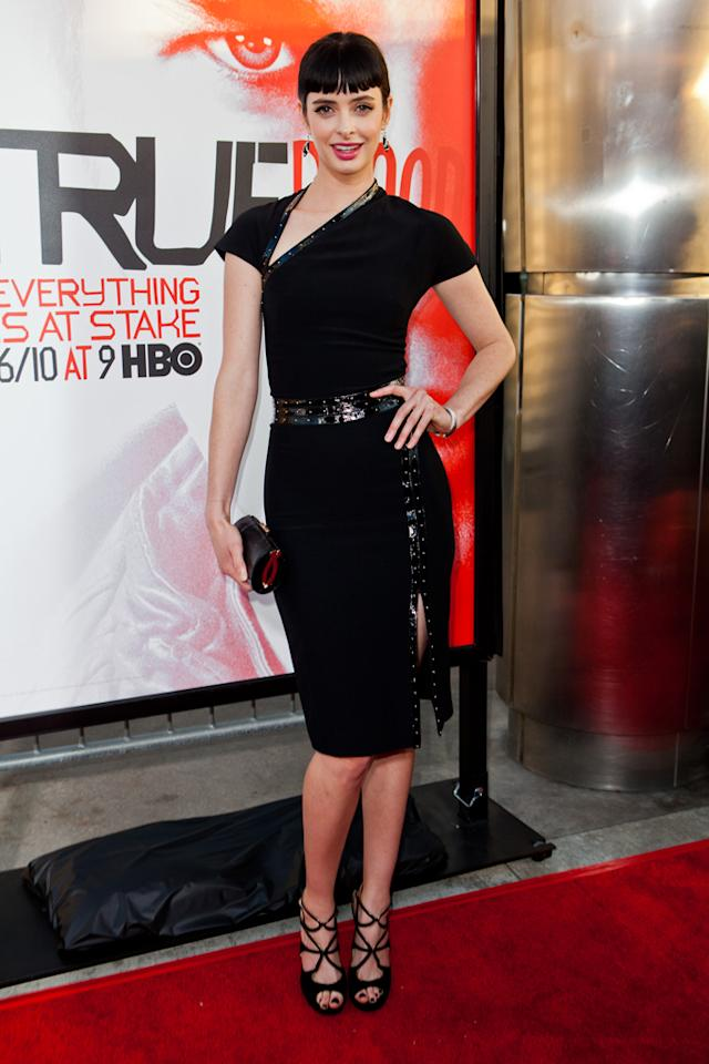 """Krysten Ritter attends HBO's """"True Blood"""" Season 5 Los Angeles premiere at ArcLight Cinemas Cinerama Dome on May 30, 2012 in Hollywood, California."""