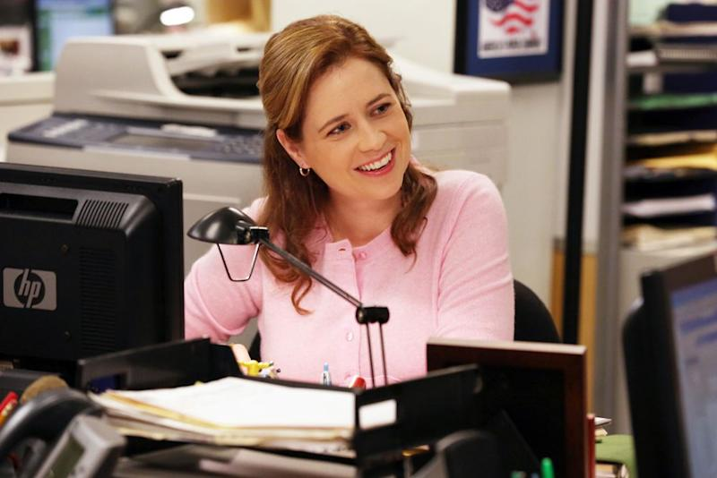 Jenna Fischer as Pam Beesly | Byron Cohen/NBCU Photo Bank/NBCUniversal via Getty