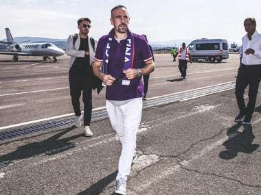 Serie A: Former Bayern Munich star Franck Ribery signs two-year deal with Fiorentina, says he's 'ready for a new challenge'