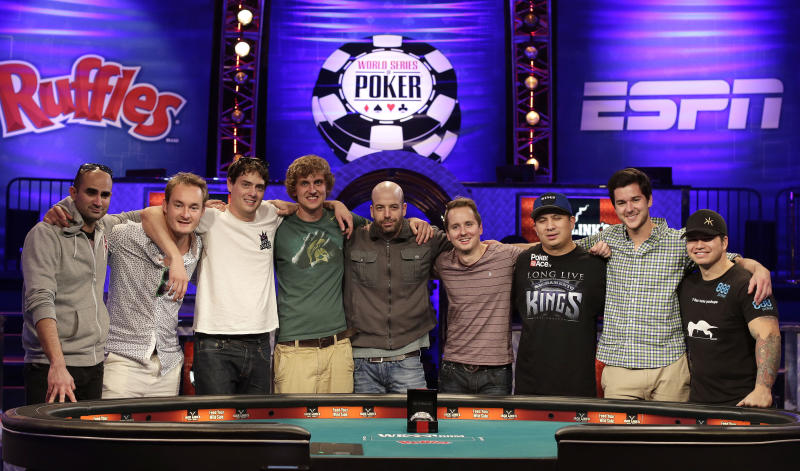 A look at the final 9 players in the WSOP