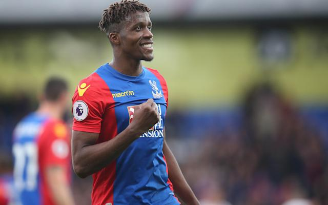 Wilfried Zaha was Crystal Palace's star performer - Copyright (c) 2017 Rex Features. No use without permission.