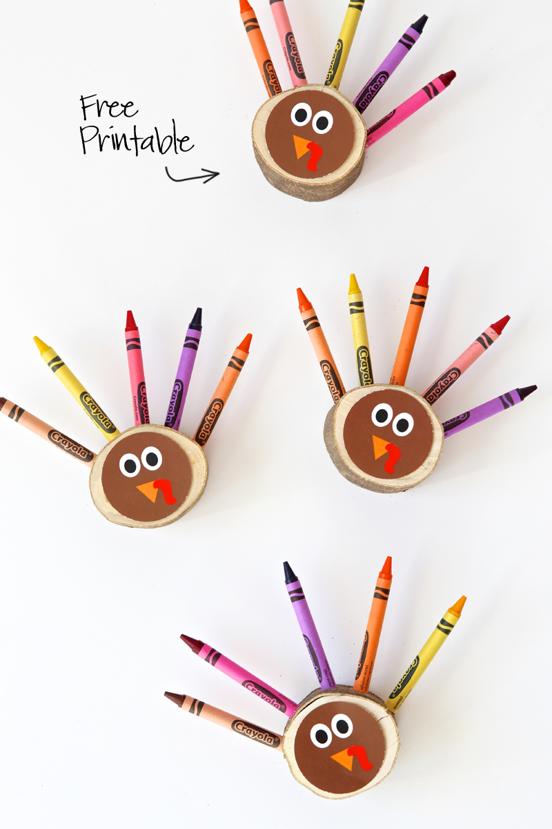 """<p>Add coloring pages to each place setting to prevent kids from getting bored and restless during dinner. </p><p><em><a href=""""https://pagingsupermom.com/diy-crayon-turkeys/"""" rel=""""nofollow noopener"""" target=""""_blank"""" data-ylk=""""slk:Get the tutorial at Paging Supermom »"""" class=""""link rapid-noclick-resp"""">Get the tutorial at Paging Supermom »</a></em></p>"""