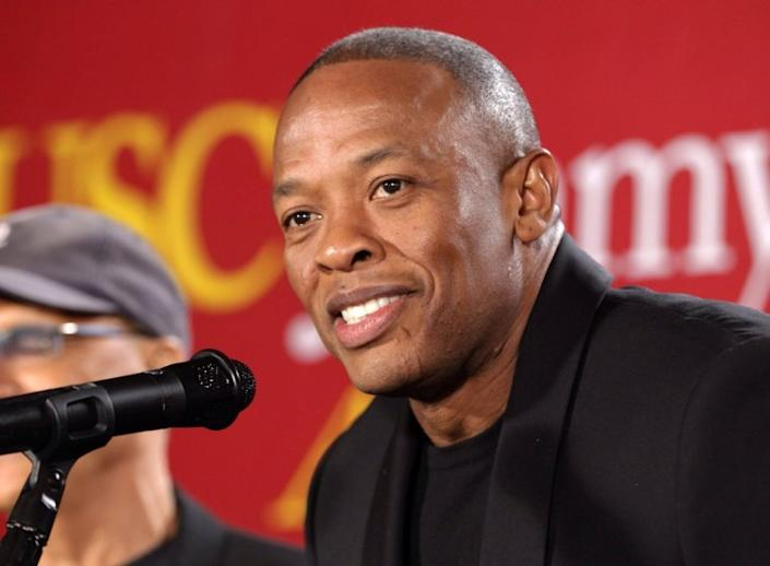 Dr. Dre will donate funds to build a new performing arts center in his hometown of Compton.