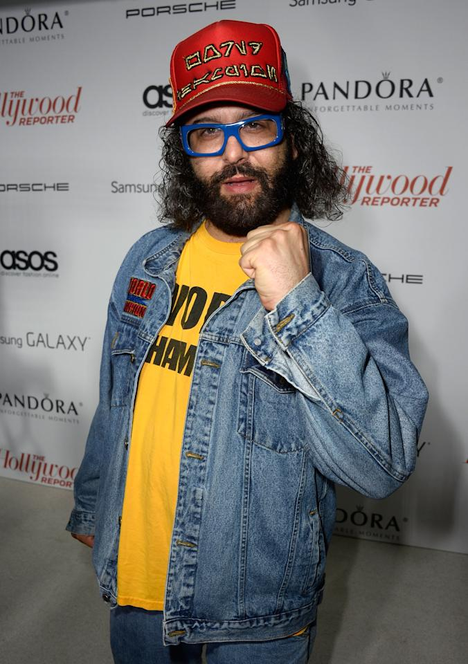 WEST HOLLYWOOD, CA - SEPTEMBER 19: Writer/actor Judah Friedlander arrives at The Hollywood Reporter's Emmy Party at Soho House on September 19, 2013 in West Hollywood, California. (Photo by Frazer Harrison/Getty Images)