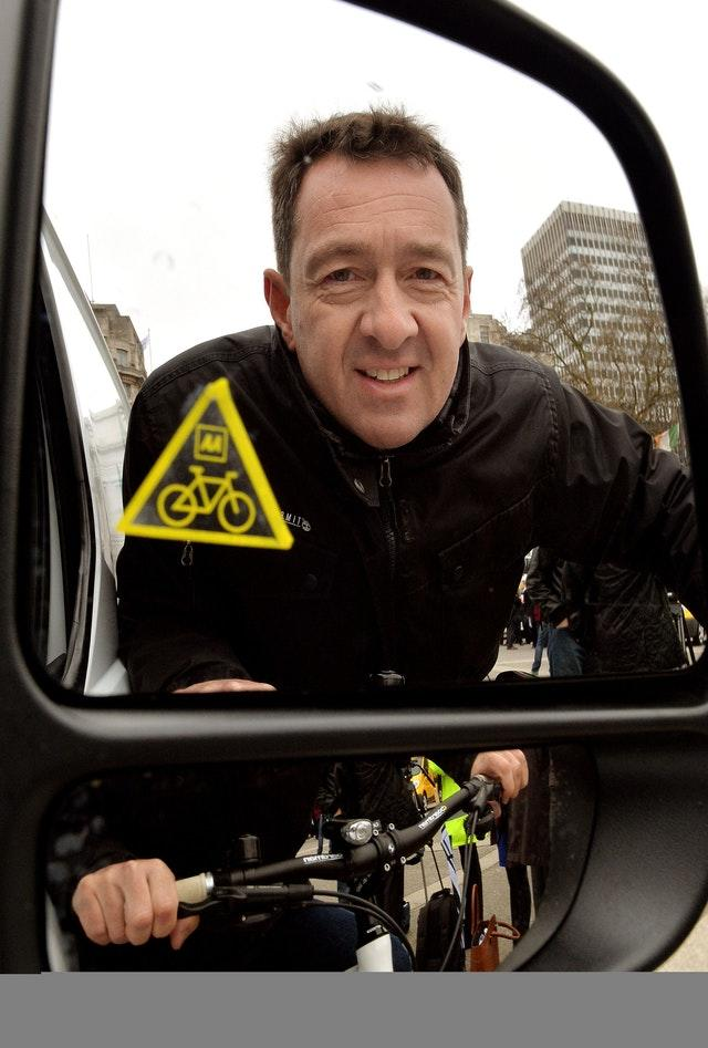 Think Bikes awareness campaign launch