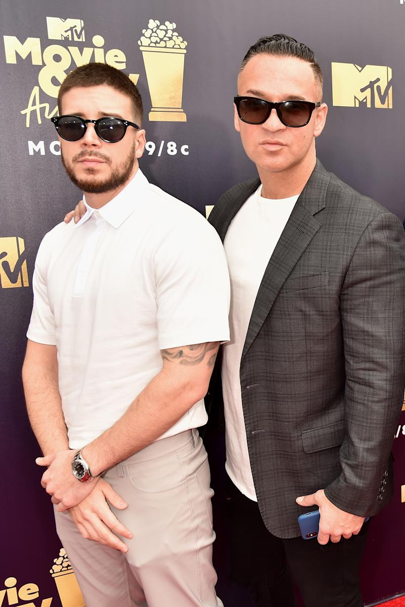 Vinny Guadagnino and Mike Sorrentino