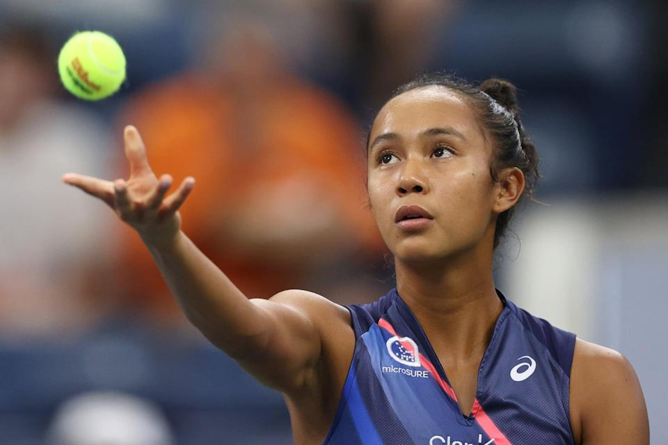 """<p>Off the tennis court, Leylah Fernandez has a <a href=""""http://www.wtatennis.com/players/326735/leylah-fernandez/bio"""" class=""""link rapid-noclick-resp"""" rel=""""nofollow noopener"""" target=""""_blank"""" data-ylk=""""slk:list of hobbies"""">list of hobbies</a> including salsa dancing with her little sister Bianca, putting puzzles together, and solving Rubik's Cubes.</p>"""