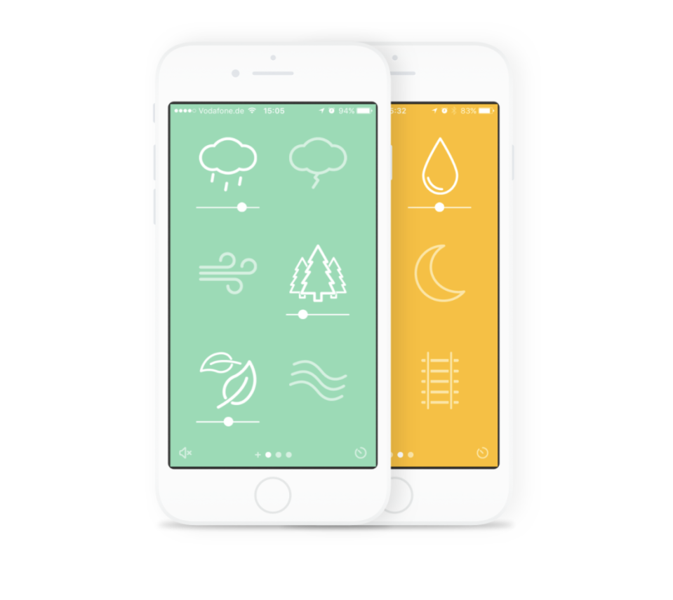 """<p><a class=""""link rapid-noclick-resp"""" href=""""https://www.noisli.com/apps"""" rel=""""nofollow noopener"""" target=""""_blank"""" data-ylk=""""slk:Download Noisli"""">Download Noisli</a><br><br>Career coach Stacey Staaterman suggests white noise to tune out distractions. She likes Noisli because its natural sounds (river, rain, wind) increase engagement and productivity.<br></p>"""