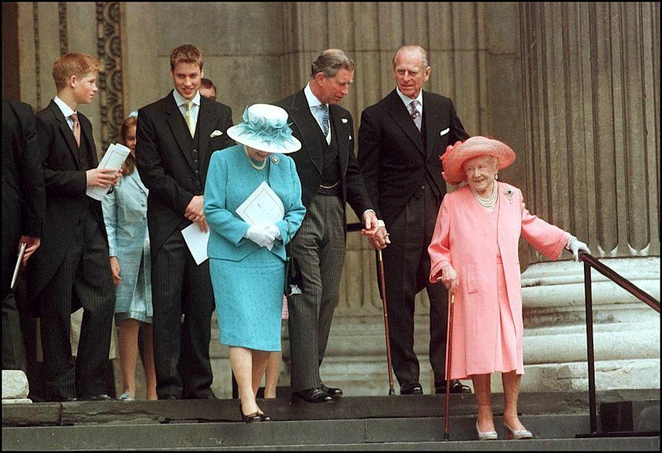 <p>The Queen Mother celebrates her 100th birthday on August 4.</p>