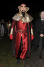 <p>Comedian and presenter David Walliams dressed up as Ming the Merciless, a character who first appeared in the 1934 Flash Gordon comic strip. <em>[Photo: Rex]</em> </p>