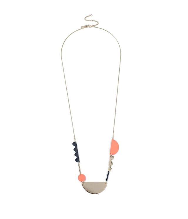 "<p>Topshop abstract necklace, $28, <a href=""http://us.topshop.com/en/tsus/product/bags-accessories-1702229/jewelry-70524/abstract-necklace-6764501?bi=40&ps=20"" rel=""nofollow noopener"" target=""_blank"" data-ylk=""slk:topshop.com"" class=""link rapid-noclick-resp"">topshop.com</a> </p>"
