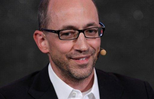 Twitter chief Dick Costolo is pictured in 2011
