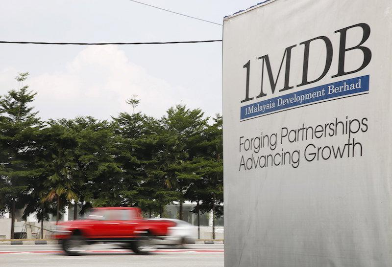 From 2009 through 2015, more than US$4.5 billion in funds belonging to 1MDB were allegedly misappropriated by high-level officials of 1MDB and their associates, and Low Taek Jho, through a criminal scheme involving international money laundering and embezzlement. — Reuters pic