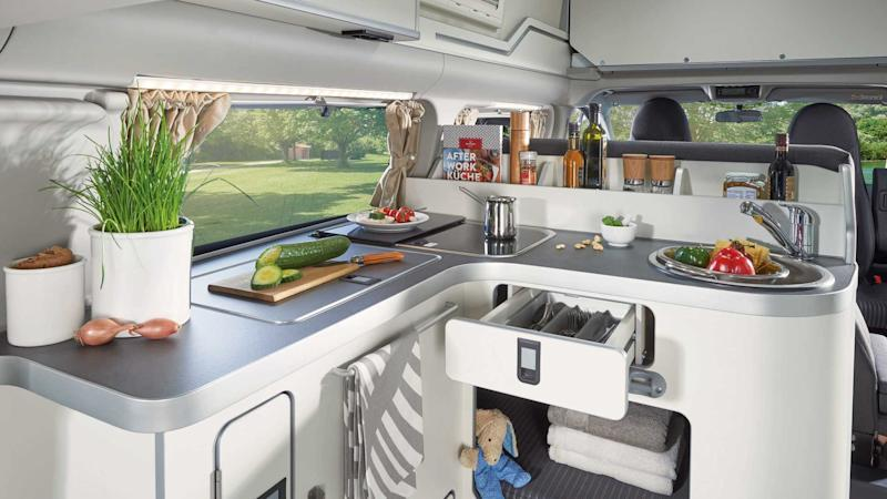 Ford Transit Custom Nugget Camper Van Revealed