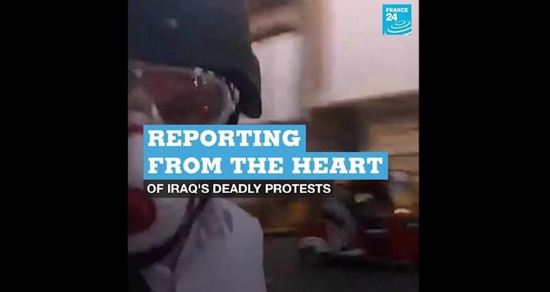 Reporting from the heart of Iraq's deadly protests
