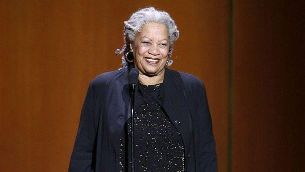 PHOTO: Writer Toni Morrison accepts an awards at Lincoln Center's Avery Fisher Hall, Nov. 5, 2007 in New York. (Jason Decrow/AP, FILE)