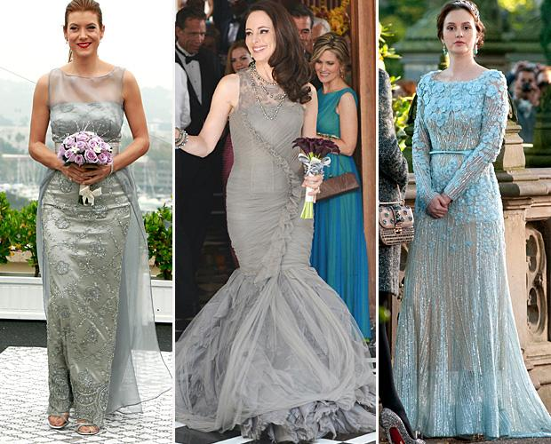 Trend Alert: TV Wedding Dresses Go Grey