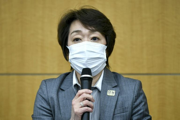 Hashimoto has only been in the top job a few weeks, after her predecessor resigned for making sexist comments