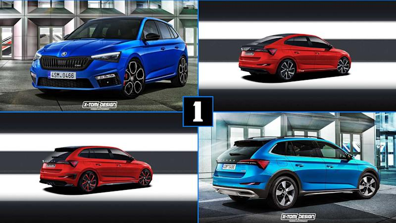 Skoda Scala Rs Envisioned To Spice Up The Hot Hatch Game