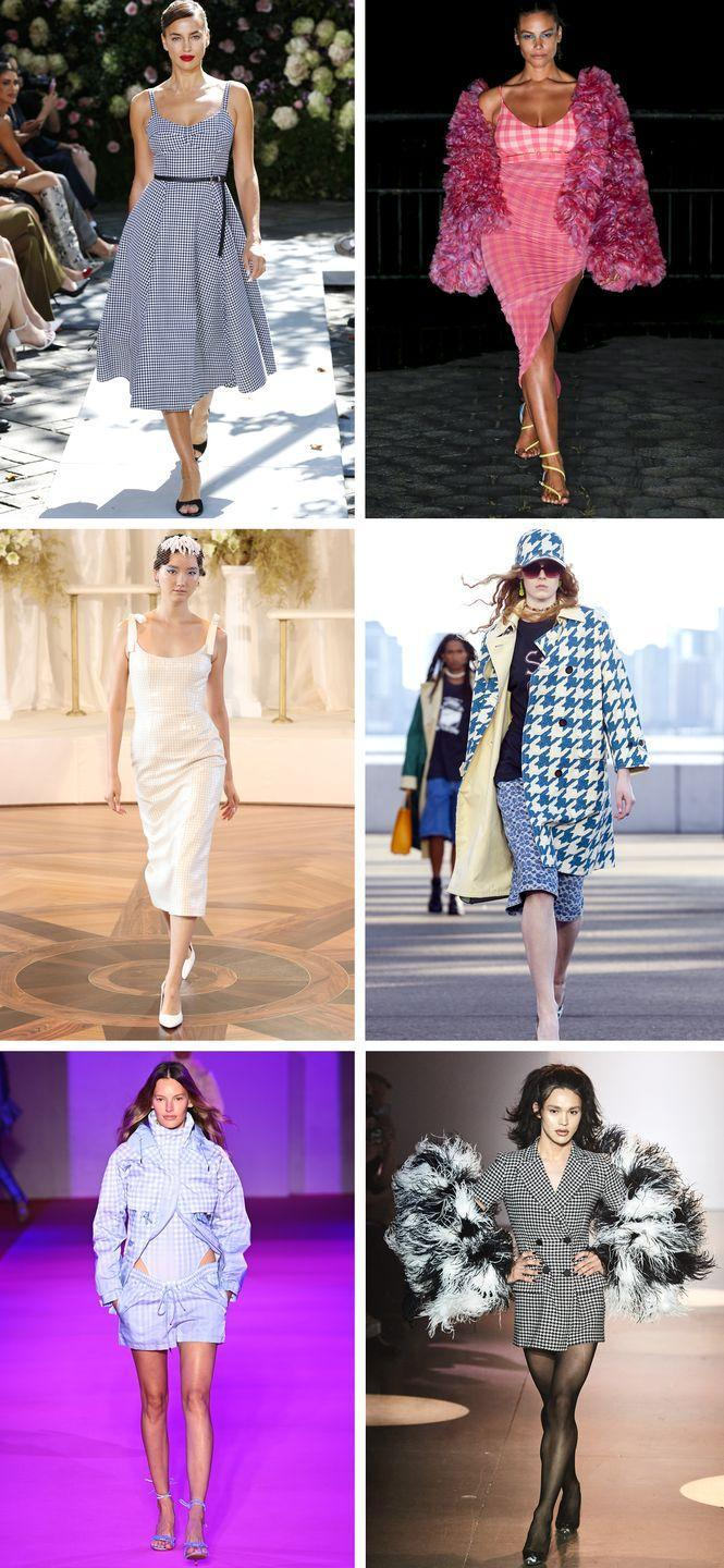 <p>There's something inherently lovely and feminine about gingham. But those checks don't take a one-size-fits-all approach. There are ladylike dresses, of course, but the beloved print can also be found on sporty pieces and even a baseball cap. </p><p><em>Pictured clockwise: Michael Kors Collection, Prabal Gurung, Coach, Christian Cowan, Brandon Maxwell, Markarian.</em></p>