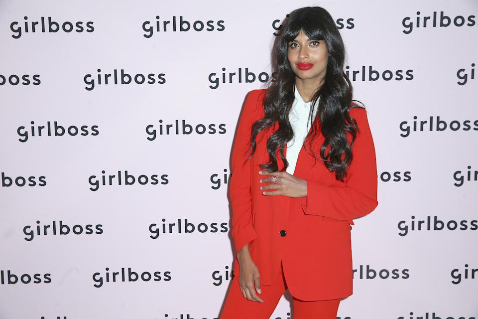 Jameela Jamila is not shy about her feelings when it comes to detox teas. (Photo: Rich Fury/Getty Images for Girlboss)