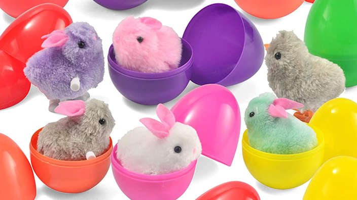 Best Easter gifts: 12-pack of windup bunnies and chicks