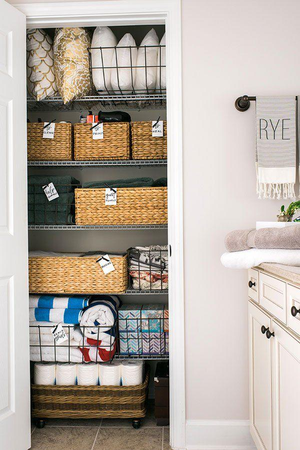 "<p>If clutter is your middle name, a linen closet might seem like your nemesis. But don't worry, it's never too late to clean things up (and keep them that way!)-you just might need a little nudge in the <a rel=""nofollow"" href=""https://www.housebeautiful.com/lifestyle/organizing-tips/g3036/pantry-organization-ideas/https://www.housebeautiful.com/lifestyle/organizing-tips/"">organized direction</a>. These products are here to make your life a whole lot easier and turn your linen closet into a super-organized space that actually brings you peace. </p>"