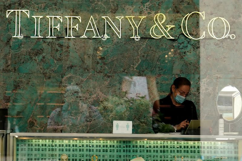 FILE PHOTO: A Tiffany & Co. store is pictured in the Manhattan borough of New York City