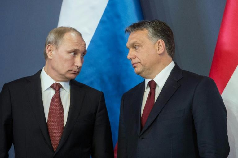 On a visit to Hungary in February, Russian President Vladimir Putin (pictured, L, with Prime Minister Viktor Orban) lauded the country's nuclear project