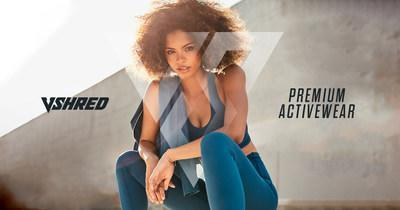 V Shred® Launches Premium Activewear Line Built For Daily Greatness