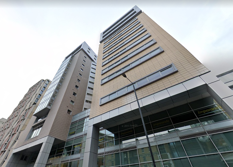 <p>ACM cladding will be removed from the towers at 52-58 Commercial Road</p> (Google maps)