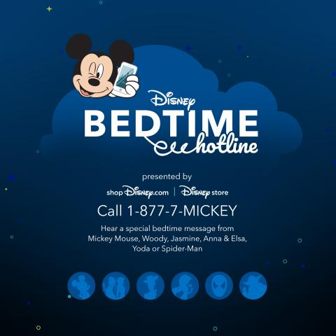 """Disney store """"Disney Bedtime Hotline"""" Returns and Introduces Disney Bedtime Adventure Box to Infuse Magic into Bedtime for Families and Fans"""